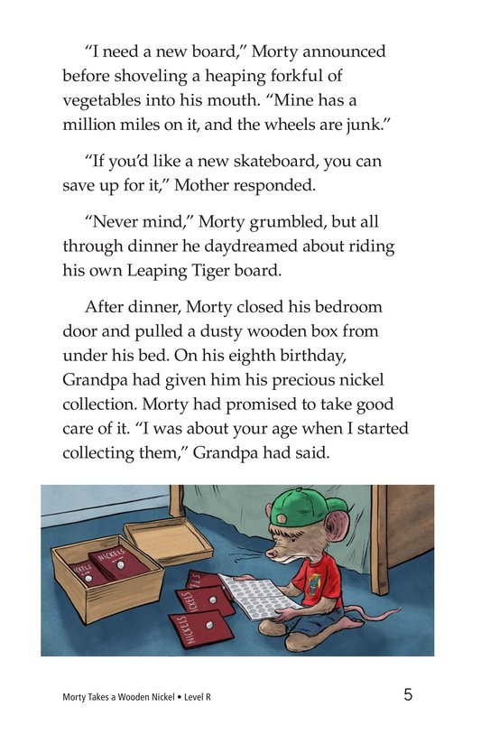 Book Preview For Morty Takes a Wooden Nickel Page 5