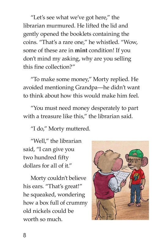 Book Preview For Morty Takes a Wooden Nickel Page 8