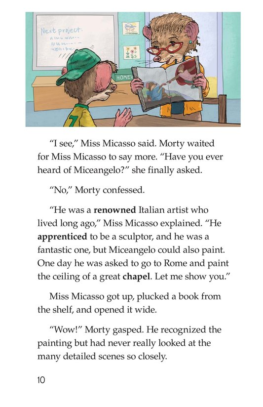 Book Preview For Mortyangelo and the Mystery Art Page 10