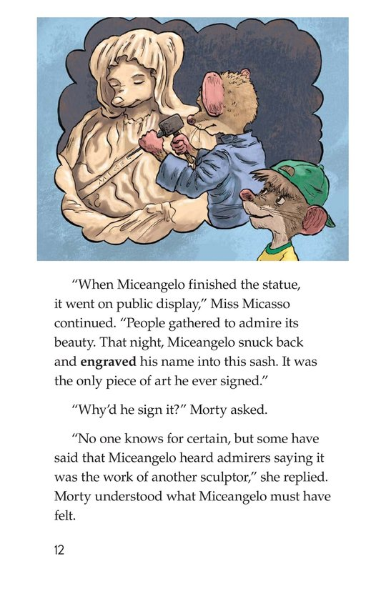 Book Preview For Mortyangelo and the Mystery Art Page 12