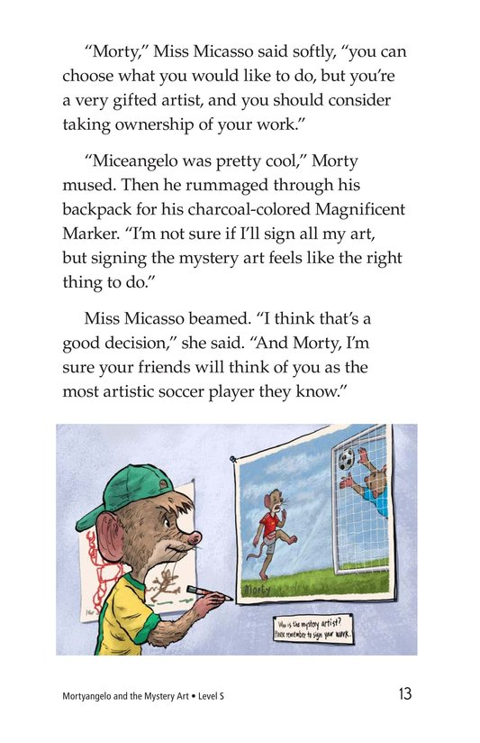 Book Preview For Mortyangelo and the Mystery Art Page 13