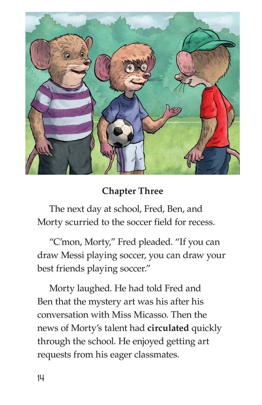 Book Preview For Mortyangelo and the Mystery Art Page 14