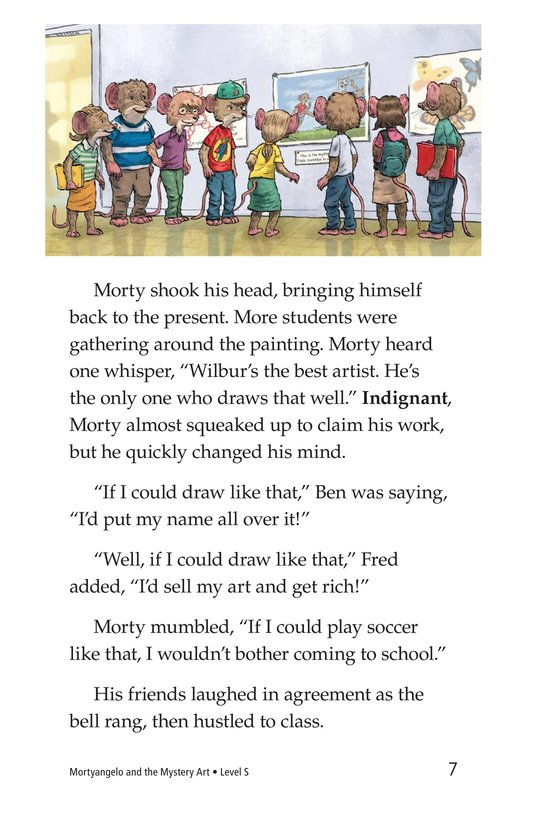 Book Preview For Mortyangelo and the Mystery Art Page 7