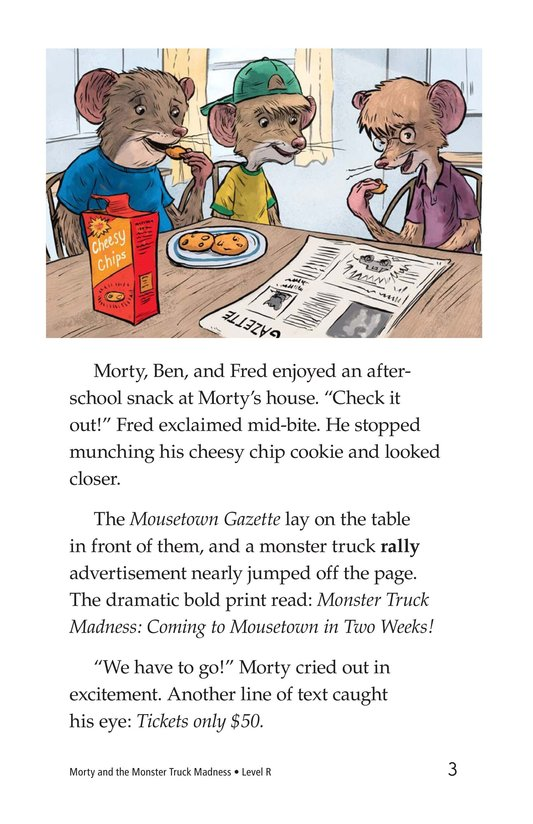 Book Preview For Morty and the Monster Truck Madness Page 3