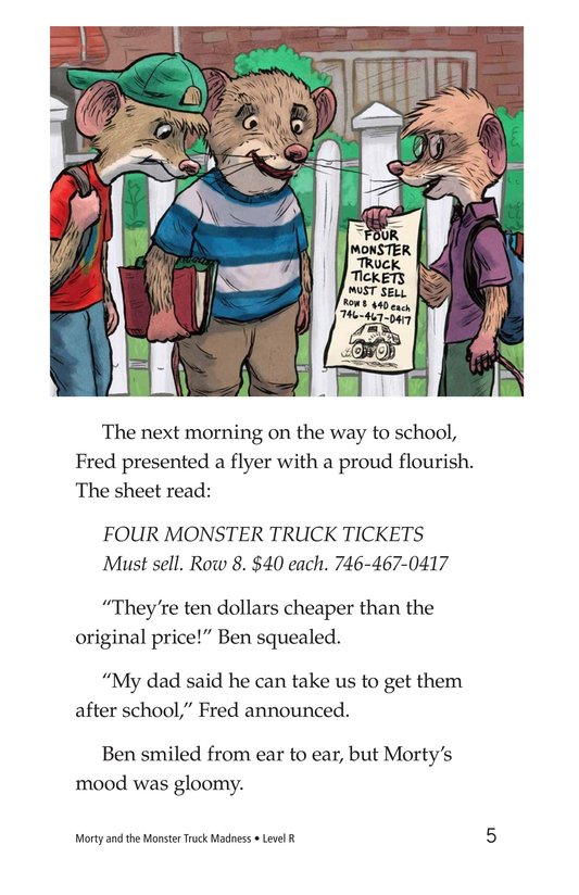 Book Preview For Morty and the Monster Truck Madness Page 5