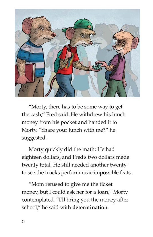 Book Preview For Morty and the Monster Truck Madness Page 6