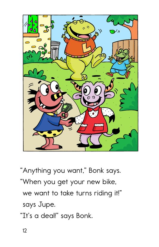 Book Preview For Bonk's New Bike Page 12
