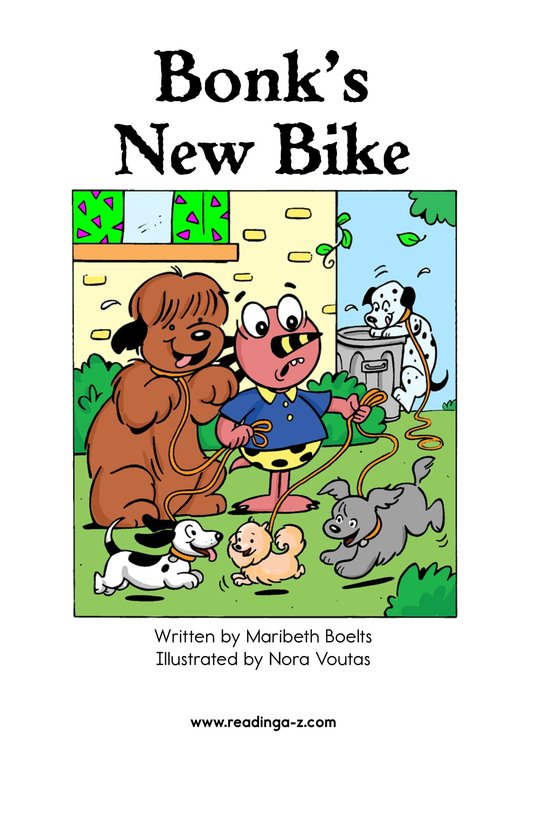 Book Preview For Bonk's New Bike Page 2