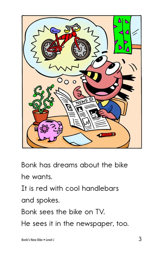 Book Preview For Bonk's New Bike Page 3