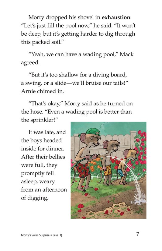 Book Preview For Morty's Swim Surprise Page 7