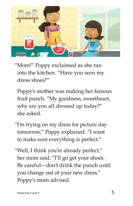 Book Preview For Picture Day Page 5
