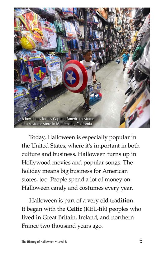 Book Preview For The History of Halloween Page 5