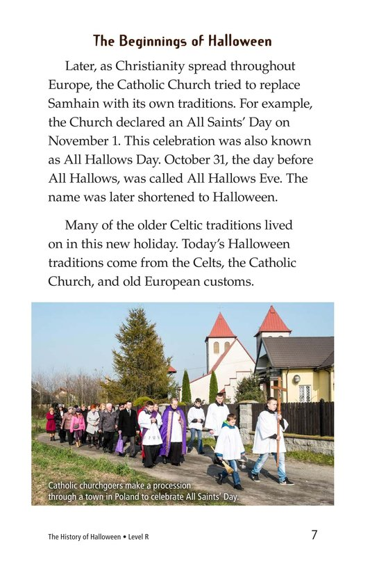 Book Preview For The History of Halloween Page 7