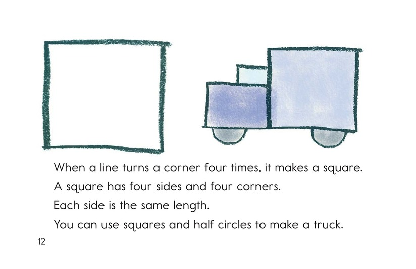 Book Preview For Let's Make Shapes! Page 12