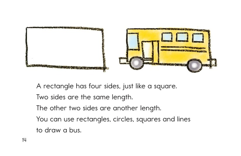 Book Preview For Let's Make Shapes! Page 14