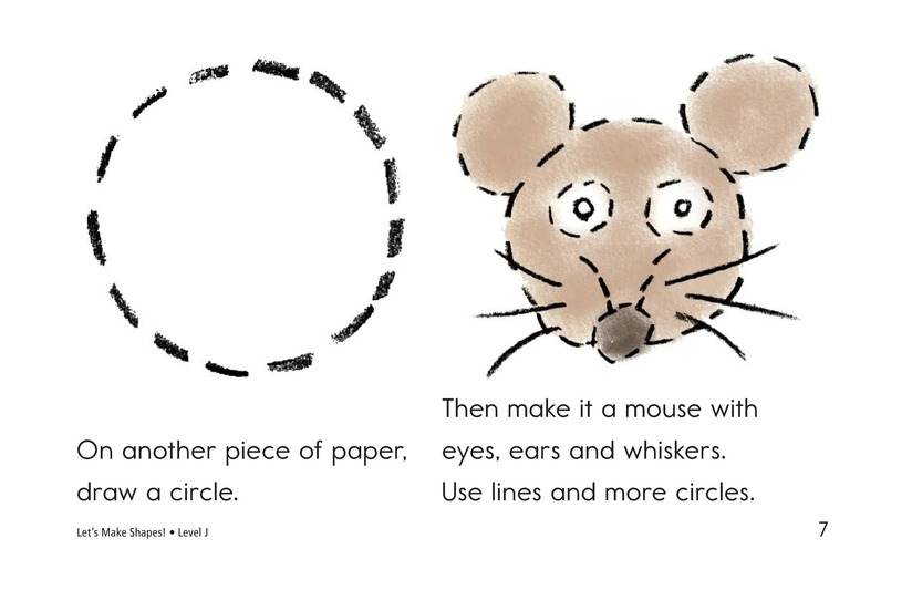Book Preview For Let's Make Shapes! Page 7