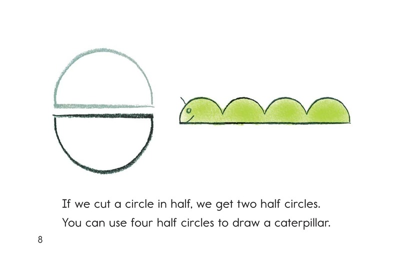 Book Preview For Let's Make Shapes! Page 8
