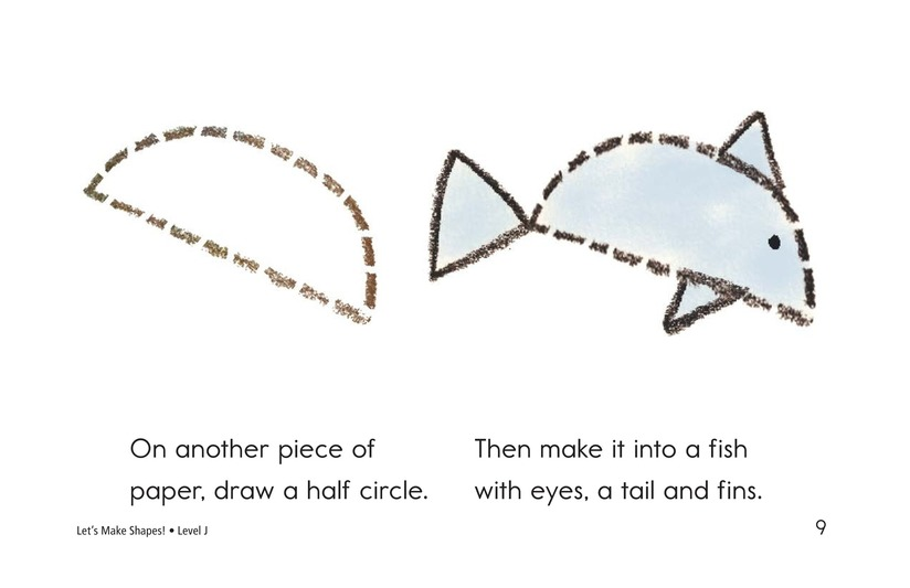 Book Preview For Let's Make Shapes! Page 9