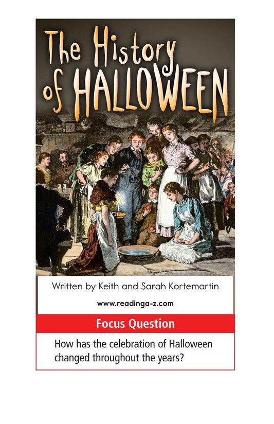 Book Preview For The History of Halloween Page 1