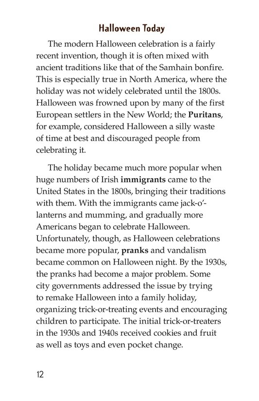 Book Preview For The History of Halloween Page 12