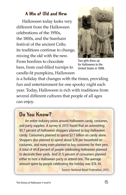 Book Preview For The History of Halloween Page 15