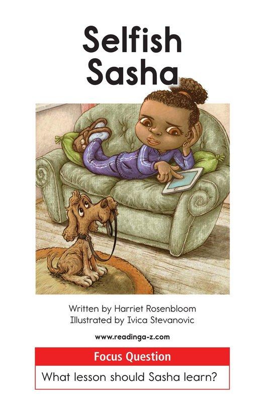Book Preview For Selfish Sasha Page 1