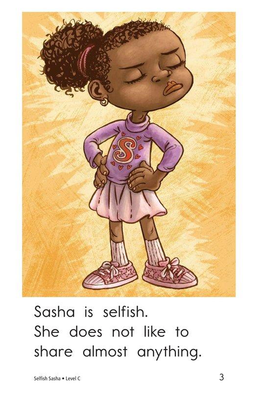 Book Preview For Selfish Sasha Page 3