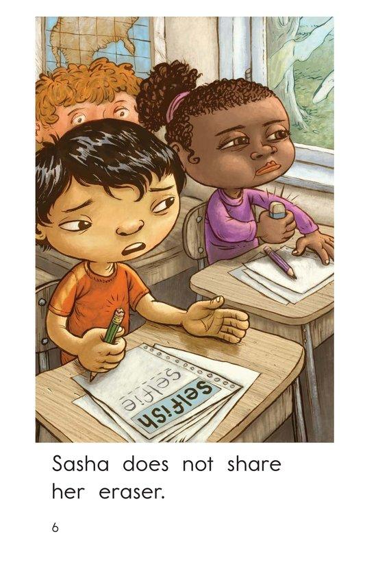 Book Preview For Selfish Sasha Page 6