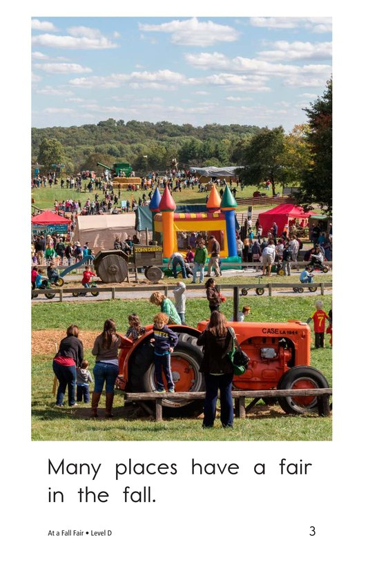 Book Preview For At a Fall Fair Page 3