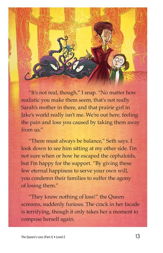 Book Preview For The Queen's Loss (Part I) Page 13
