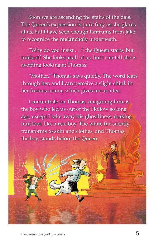Book Preview For The Queen's Loss (Part II) Page 5