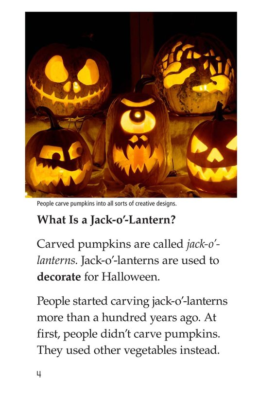 Book Preview For Jack-o'-Lanterns Page 4
