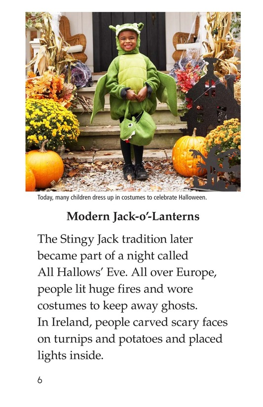 Book Preview For Jack-o'-Lanterns Page 6