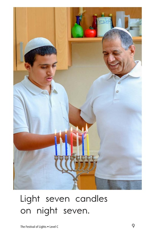 Book Preview For The Festival of Lights Page 9