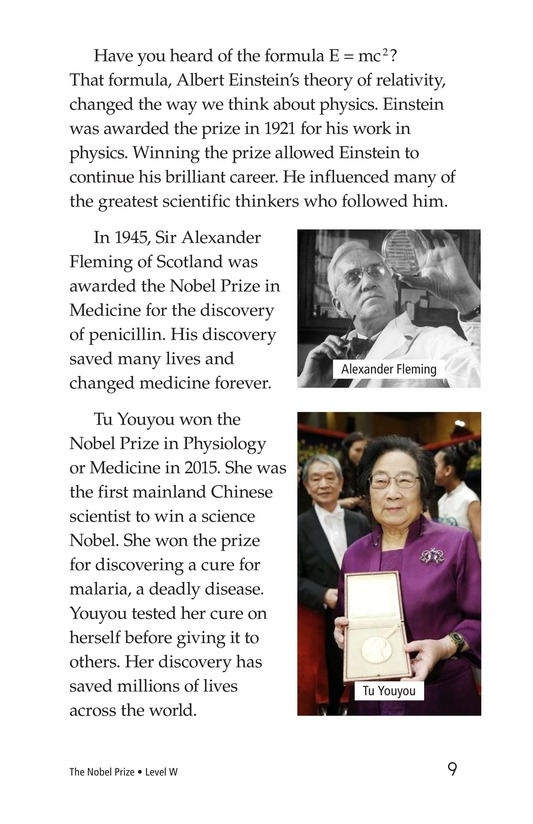 Book Preview For The Nobel Prize Page 9