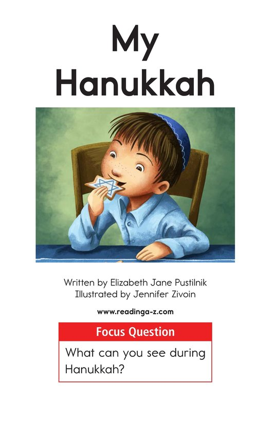 Book Preview For My Hanukkah Page 1