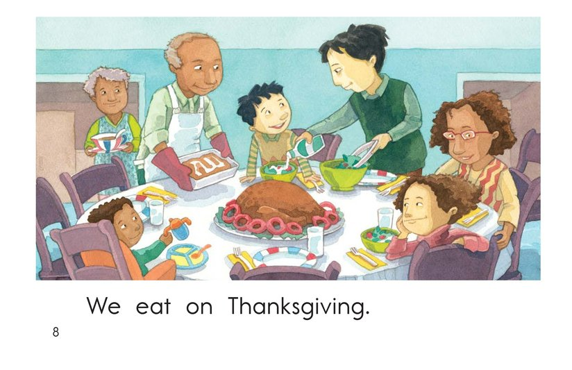 Book Preview For On Thanksgiving Page 8