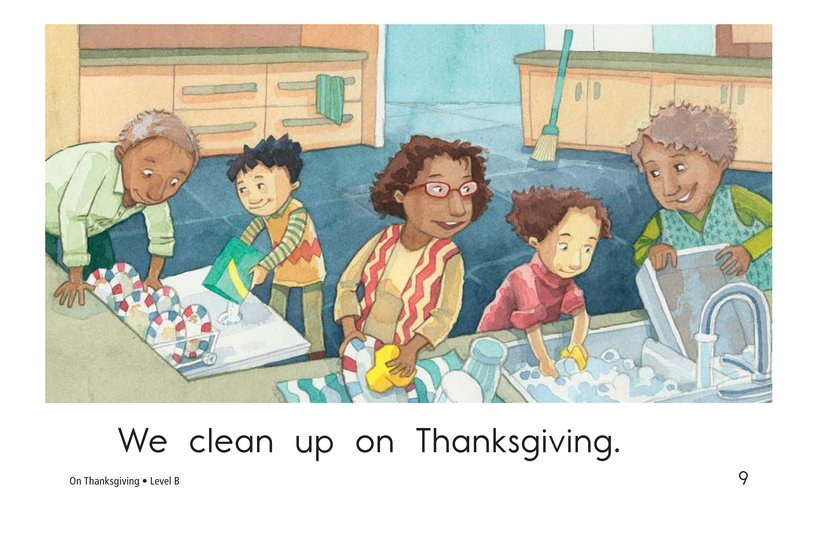 Book Preview For On Thanksgiving Page 9