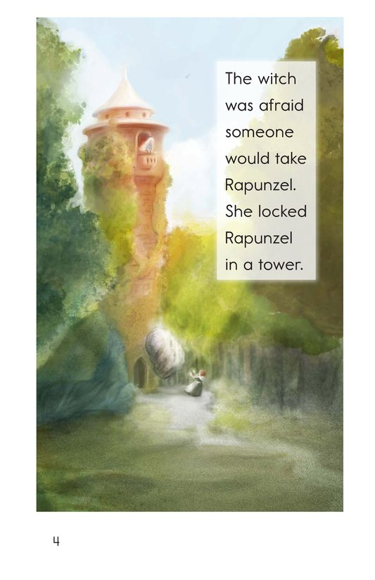 Book Preview For Rapunzel Page 4
