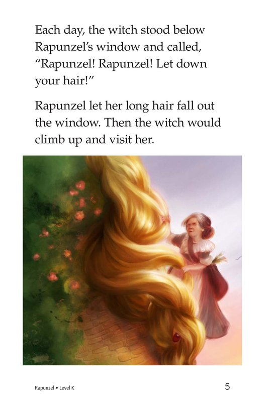 Book Preview For Rapunzel Page 5