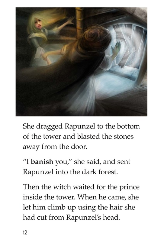 Book Preview For Rapunzel Page 12