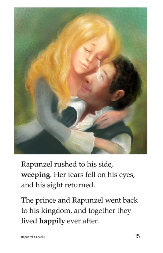 Book Preview For Rapunzel Page 15