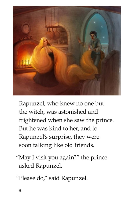 Book Preview For Rapunzel Page 8