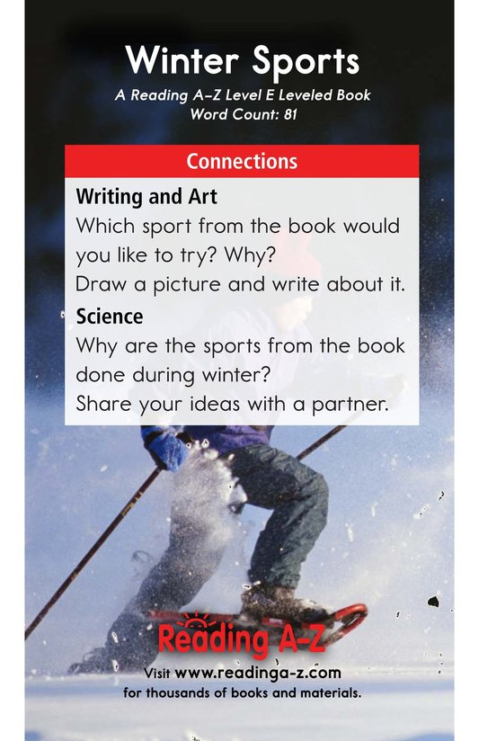 Book Preview For Winter Sports Page 13