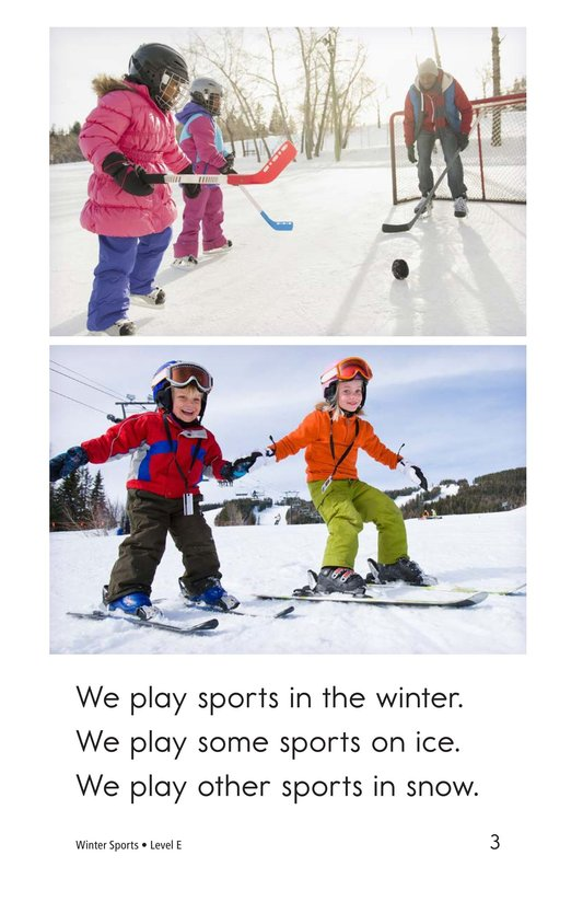 Book Preview For Winter Sports Page 3