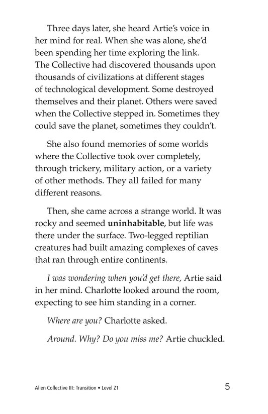 Book Preview For Alien Collective III: Transition Page 5