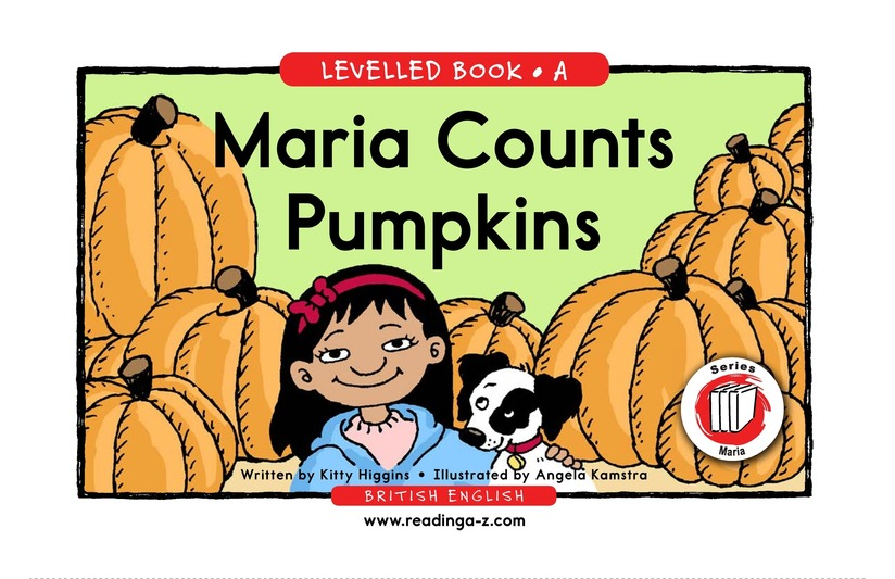 Book Preview For Maria Counts Pumpkins Page 1