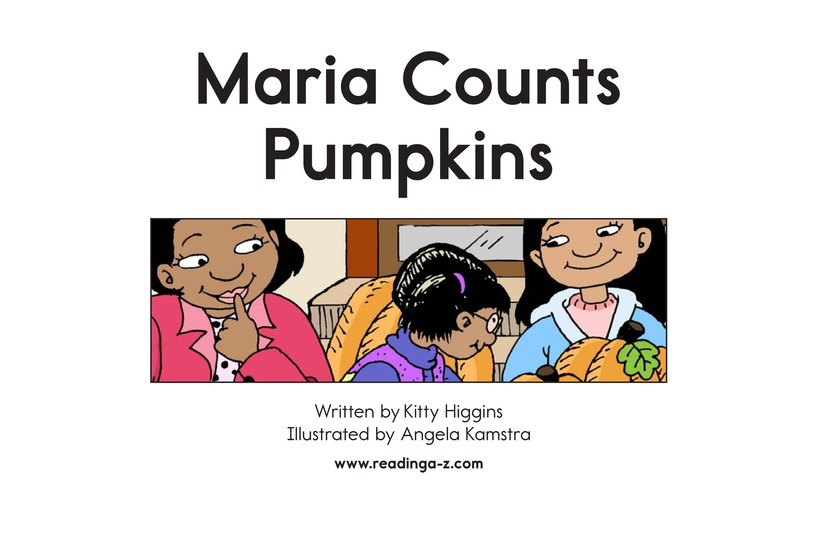 Book Preview For Maria Counts Pumpkins Page 2