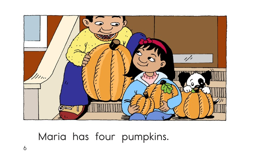 Book Preview For Maria Counts Pumpkins Page 6