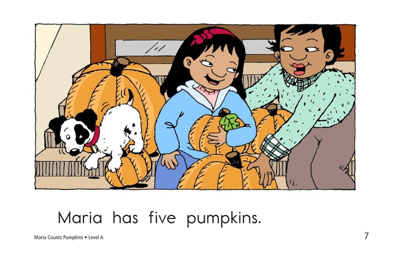Book Preview For Maria Counts Pumpkins Page 7